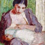 Tyko Sallinen: Äiti ja lapsi, 1910 © HAM / Kuva: Hanna Kukorelli