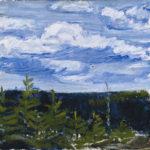 Tyko Sallinen: Tuulinen huhtikuun päivä, 1914 © HAM / Hanna Kukorelli