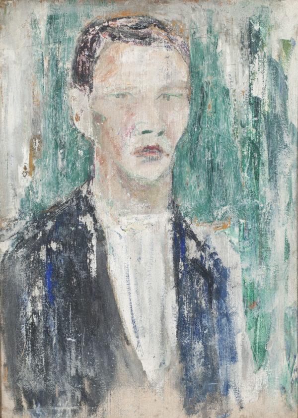 Tyko Sallinen: Omakuva, 1911 © Eira Capital Oy. Kuva: Hyvinkään taidemuseo / Ella Tommila
