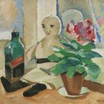 Eero Nelimarkka: Nukke pöydällä, 1923 © Yksityiskokoelma / Kuva: Hanna Kukorelli
