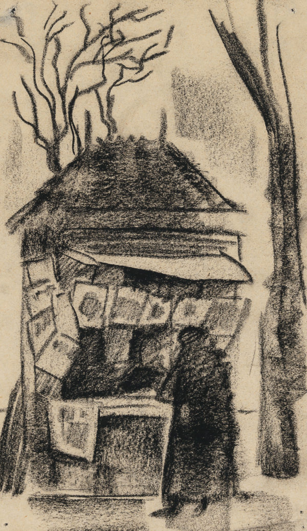 Eero Nelimarkka: Maalaus Pariisista, 1912 © Yksityiskokoelma / Kuva: Hanna Kukorelli