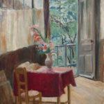 Yngve Bäck: Ateljeen sisusta, 1938 © HAM / kuva: Hanna Kukorelli