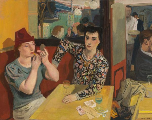 Adrien Holy: Ravintolassa, 1939 © HAM / Kuva: Hanna Kukorelli