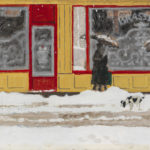 Maurice Brianchon: Lunta Pariisissa, 1946 © Yksityiskokoelma / Kuva: Hanna Kukorelli