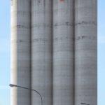 Wermke/Leinkauf: Landmarks (soy storage silo), Heilbronn, Germany, 2013